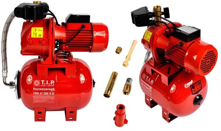Hydrofor 20l pompa wody zestaw hydroforowy 2600l/h