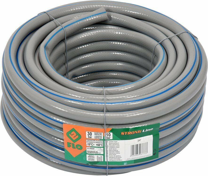 Wąż ogrodowy ogrodniczy Strong Line 3/4cal 50m o zwiększonej Flo 89295 - ZYSKAJ RABAT 30 ZŁ