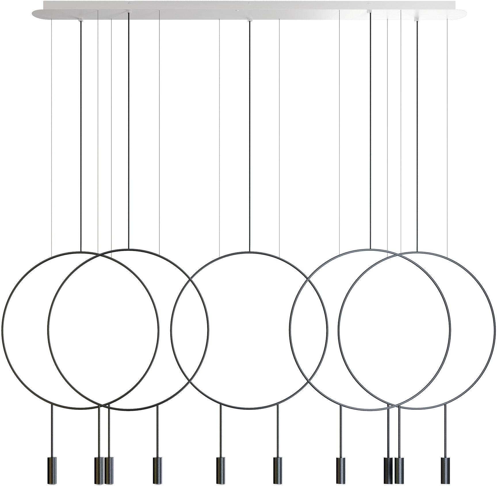 Lampa wisząca Revolta L165.5D Estiluz minimalistyczna oprawa w dekoracyjnym stylu