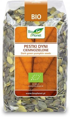 Pestki dyni ciemnozielone (CHINY) BIO 350g Bio Planet