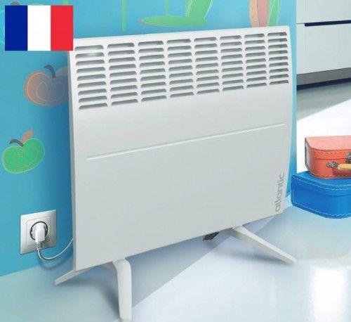 Grzejnik elektryczny stojący, Konwektor elektryczny, 458 x 451 x 99mm, 1000W