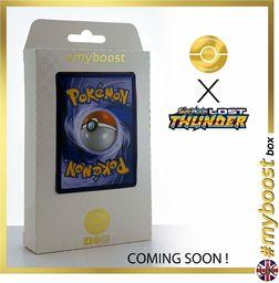 Lapras 56/214 & Electivire (Elevoltek) 72/214 - #tooboost X Sun & Moon 8 Lost Thunder - pudełko z 10 angielskimi kartami Pokémon + 1 Goodie Pokémon