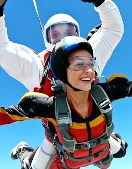 Skok spadochronowy z balonu  Karkonosze i Pogórze Izerskie