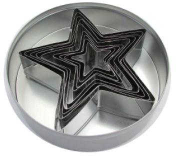Zestaw form do wycinania - gwiazda