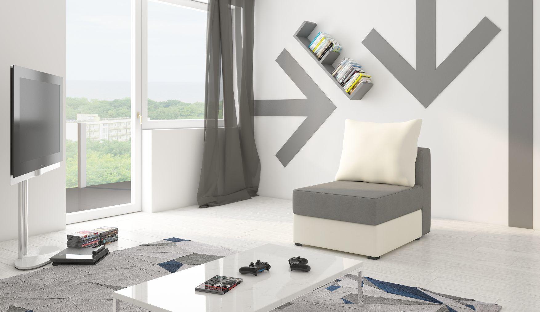 Fotel z funkcją spania PACO PUFA salon