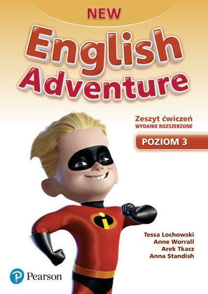 New English Adventure PL 3 AB + DVD (materiał ćwiczeniowy) wydanie rozszerzone - Opracowani zbiorowe