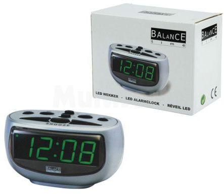 Zegar LED zielony