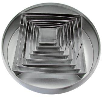 Zestaw form do wycinania - kwadrat