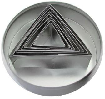 Zestaw form do wycinania - trójkąt
