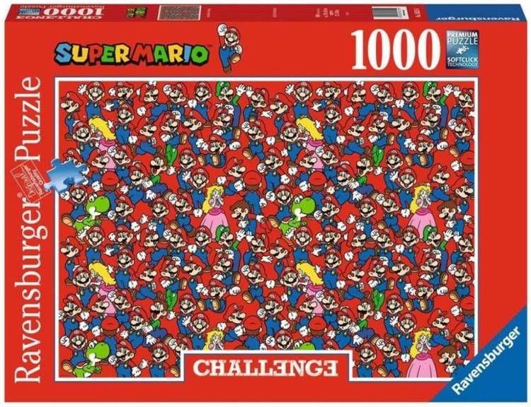 Puzzle 1000 Challenge. Super Mario Bros - Ravensburger