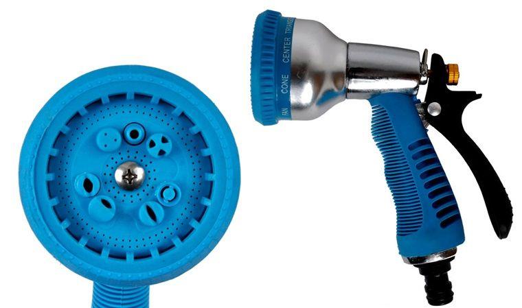 Pistolet do wody zraszacz metalowy wielofunkcyjny
