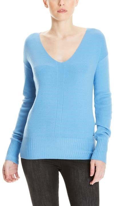 sweter BENCH - Basic V-Neck Jumper Lichen Blue (BL11342)
