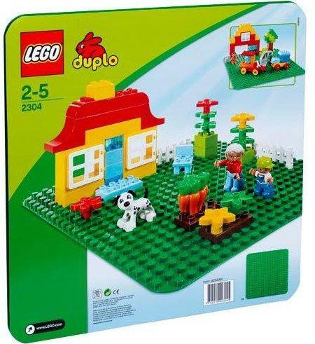 LEGO Duplo 2304 Zielona Płytka Budowlana