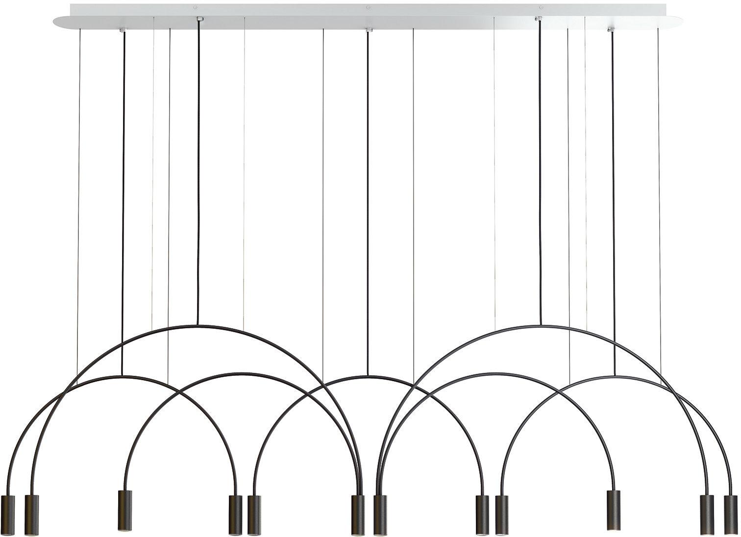 Lampa wisząca Volta L165.3D2T Estiluz dekoracyjna oprawa w nowoczesnym stylu