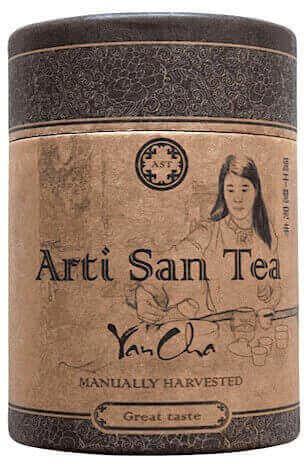 ARTI UNICI ARTISANTEA Herbata uzdrawiająca Rou Gui skalny oolong 20G