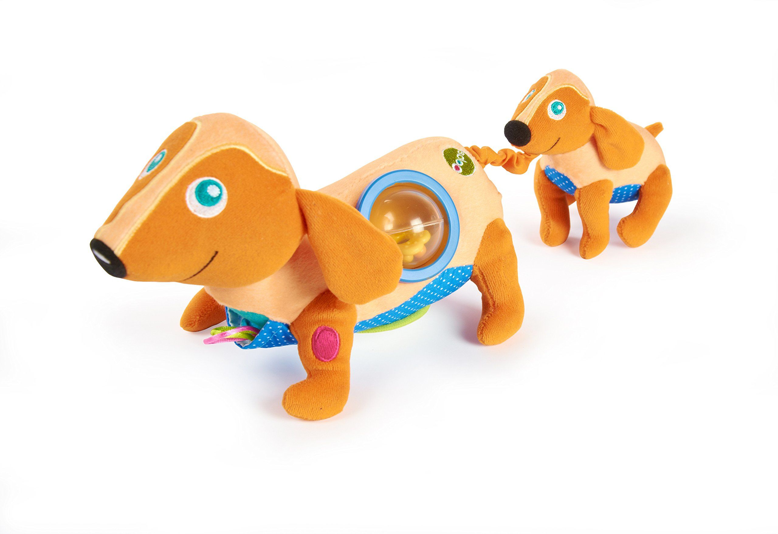 OOPS 11004.00 miękka kolekcja najlepszy przyjaciel zabawka do aktywności psa, wielokolorowa