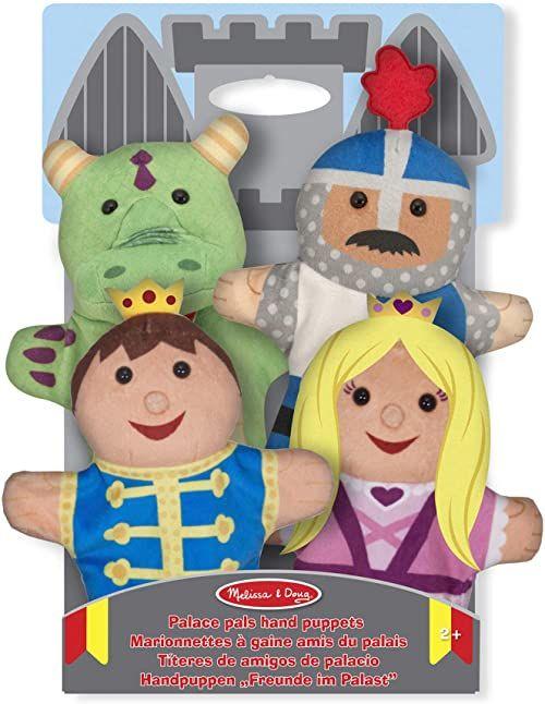 Melissa & Doug Palace Pals ręcznie laleczki laleczki i teatry miękka zabawka 2+ prezent dla chłopca lub dziewczyny