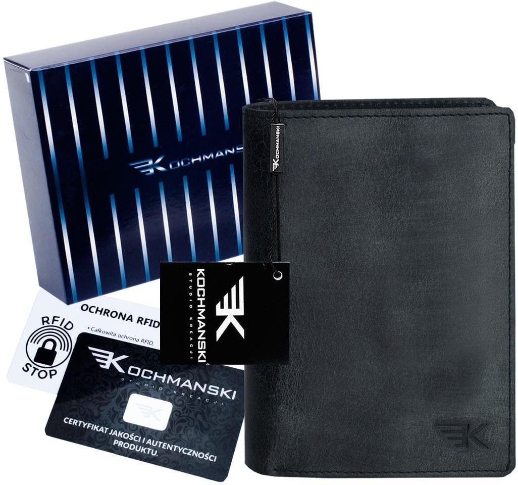KOCHMANSKI skórzany portfel męski młodzieżowy 3066