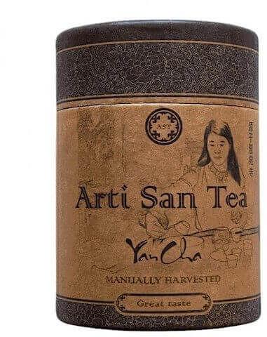 ARTI UNICI ARTISANTEA Herbata uzdrawiająca Da Hong Pao skalny oolong 20G