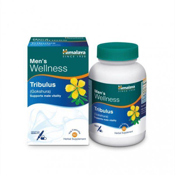Gokshura (Tribulus Terrestris), Himalaya Herbals, 60 kapsułek
