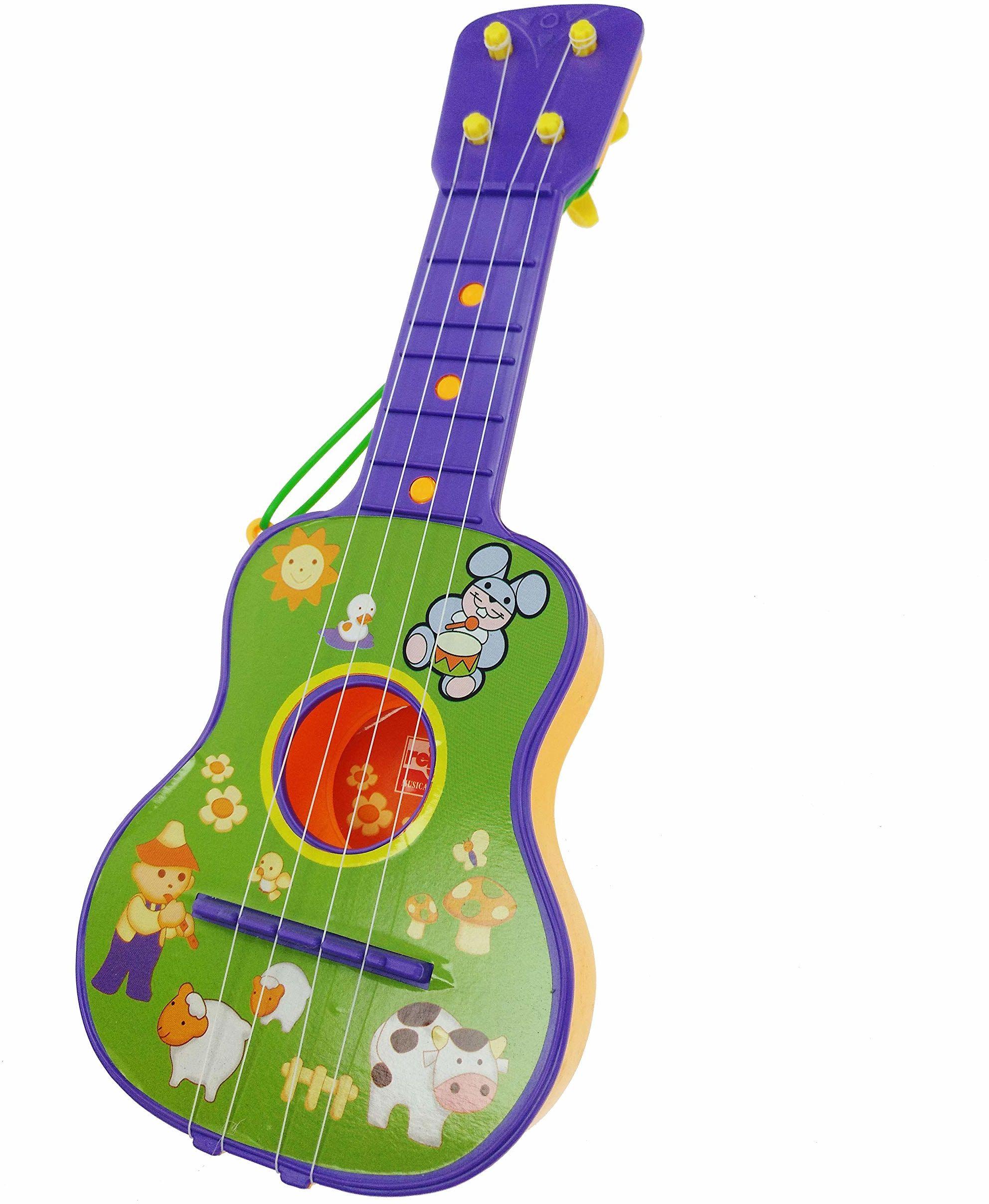 Reig Gitara z 4 strunami  kolory mogą się różnić