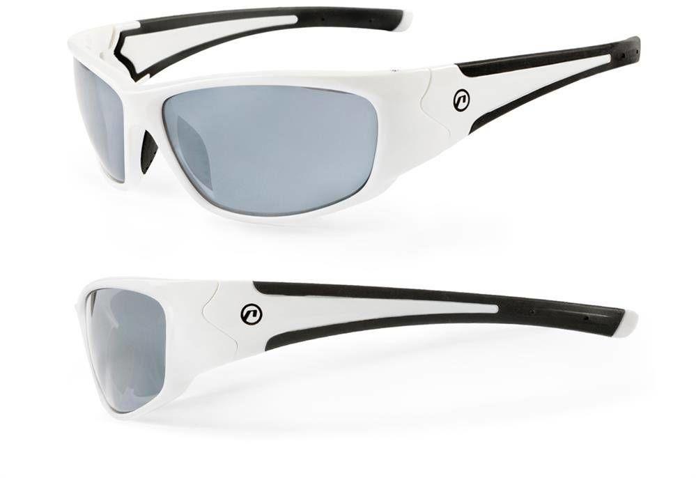 Okulary Accent Freak biało-czarne