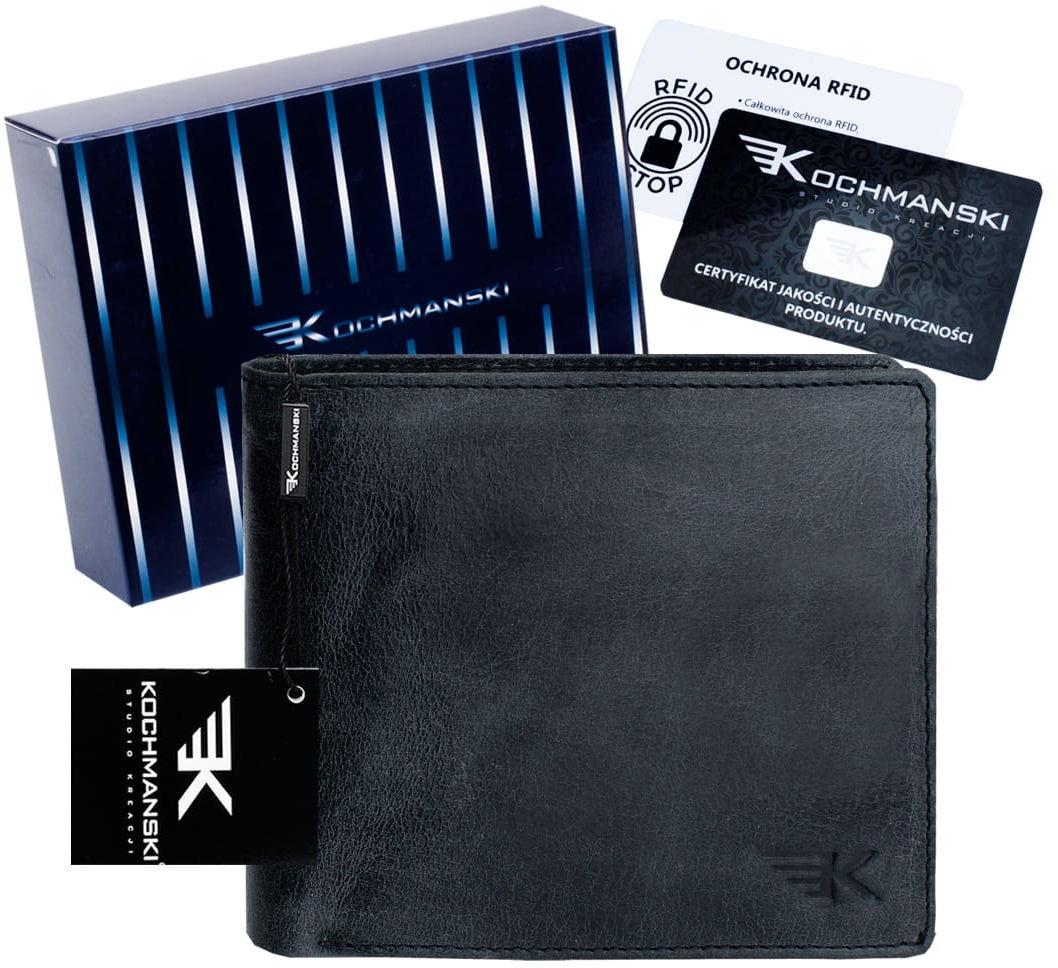 KOCHMANSKI skórzany portfel męski młodzieżowy 3074