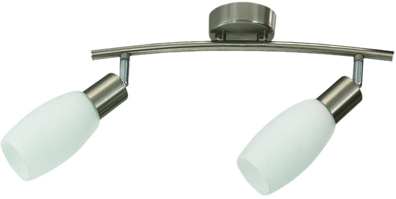 Lampex Almeda 2 289/2 spot oprawa stropowa nowoczesna szklane klosze 2x40W E14 36cm