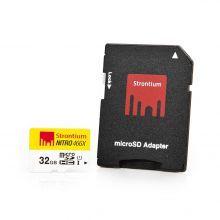 Karta pamięci microSDHC Strontium 32GB z czytnikiem kart