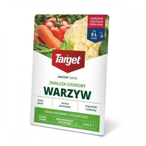 Amistar 250 sc  zwalcza choroby warzyw  5 ml target