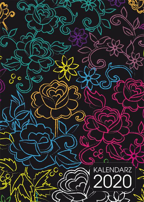Kalendarz 2020 [kwiaty] ZAKŁADKA DO KSIĄŻEK GRATIS DO KAŻDEGO ZAMÓWIENIA