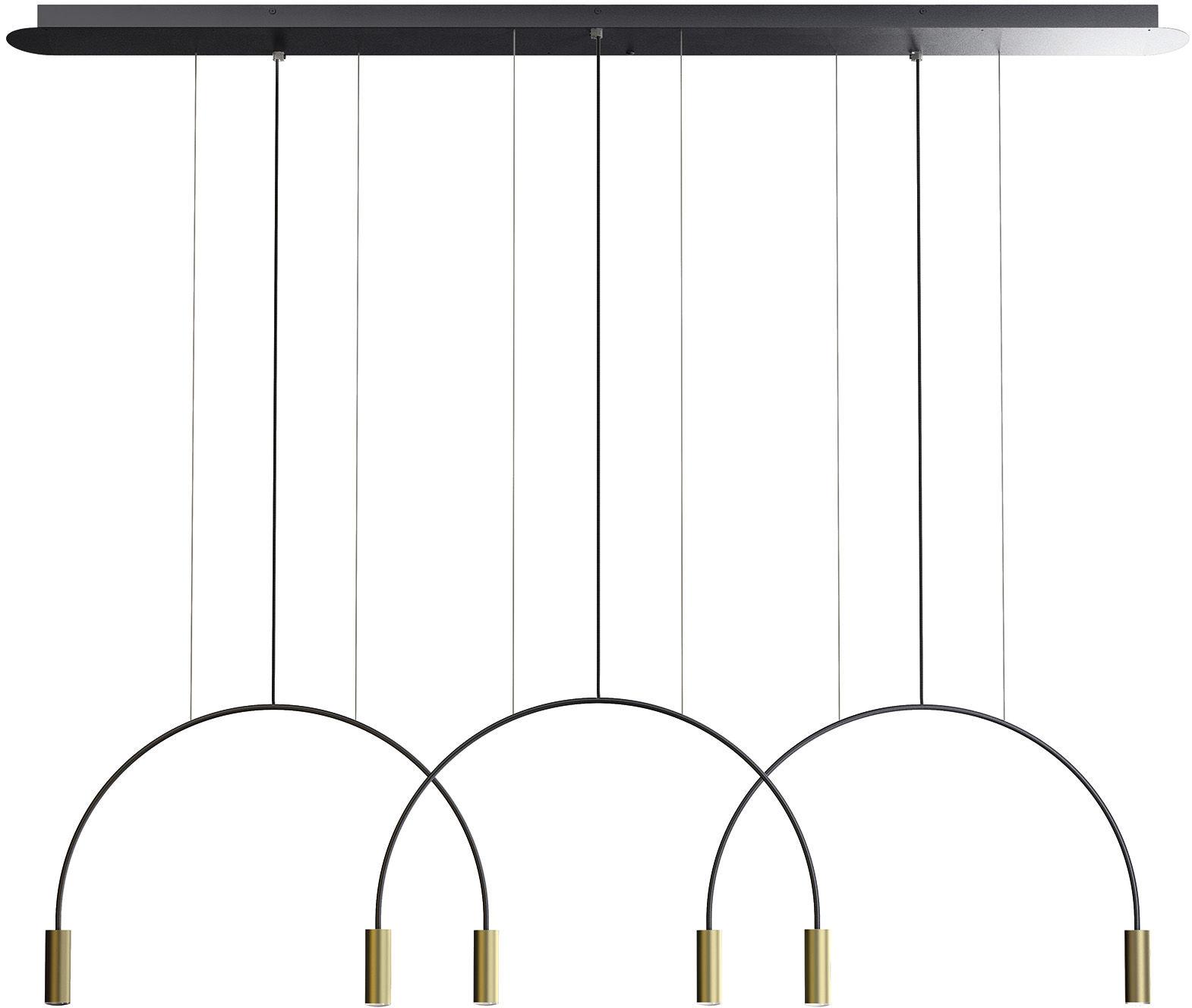 Lampa wisząca Volta L165.3D Estiluz dekoracyjna oprawa w nowoczesnym stylu
