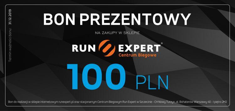 Bon Prezentowy Run Expert o wartości 100 zł