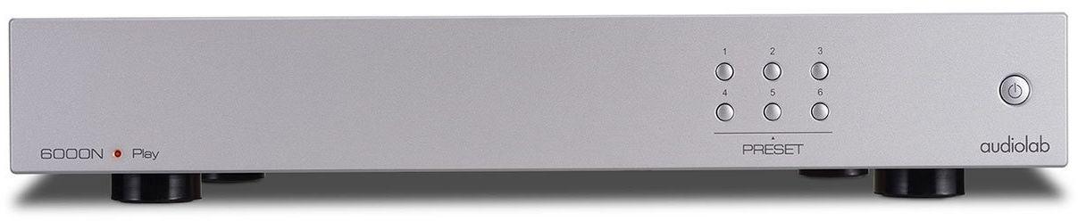 Audiolab 6000 N - odtwarzacz strumieniowy Kolor: Srebrny