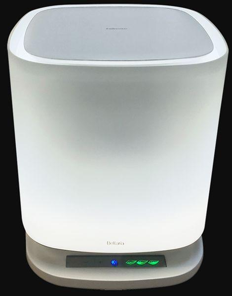 Oczyszczacz powietrza Falmec BELLARIA ROUND szkło białe BRGL24.00#B1806EU1F