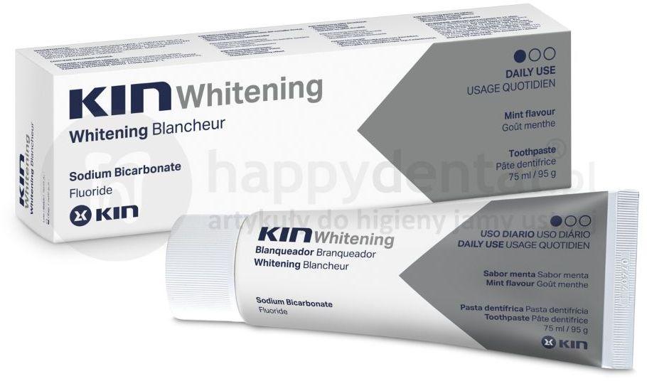 KIN Whitening wybielająca pasta do zębów nie uszkadzająca szkliwa 75ml