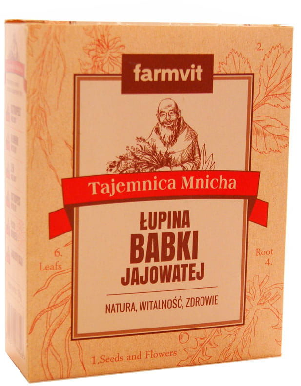 Łupina babki jajowatej - Farmvit - 150g