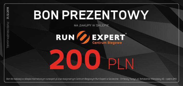 Bon Prezentowy Run Expert o wartości 200 zł