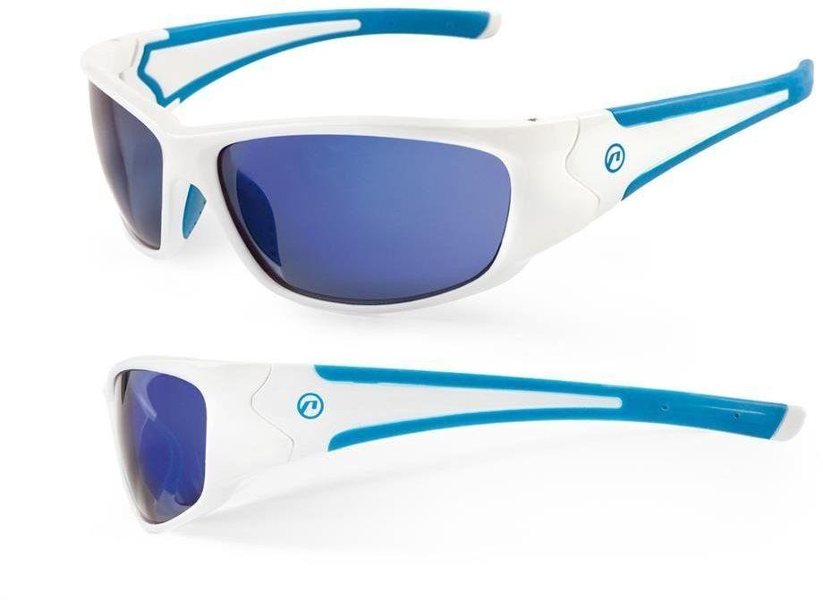 Okulary Accent Freak biało-niebieskie