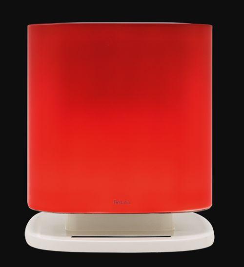 Oczyszczacz powietrza Falmec BELLARIA ROUND szkło czerwone BRGL24.00#R1806EU1F