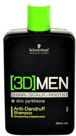 SCHWARZKOPF 3D MEN Szampon przeciwupieżowy 250 ml