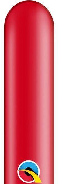 Balony rurki modeliny 10 sztuk czerwone 260Q-czerwony