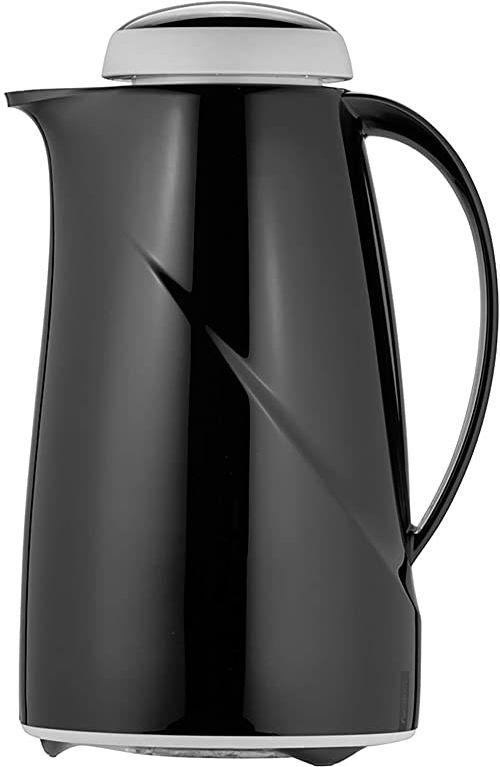 Helios Wave termos, tworzywo sztuczne, czarny, 1 litr