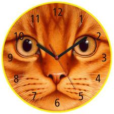 Zegar naścienny koci pyszczek