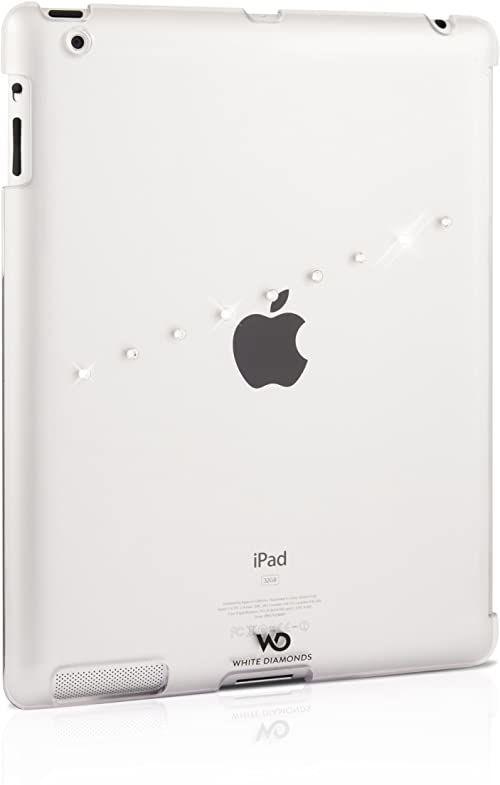 White Diamonds Sash Case z Swarovski Elements do iPada 3  przezroczyste