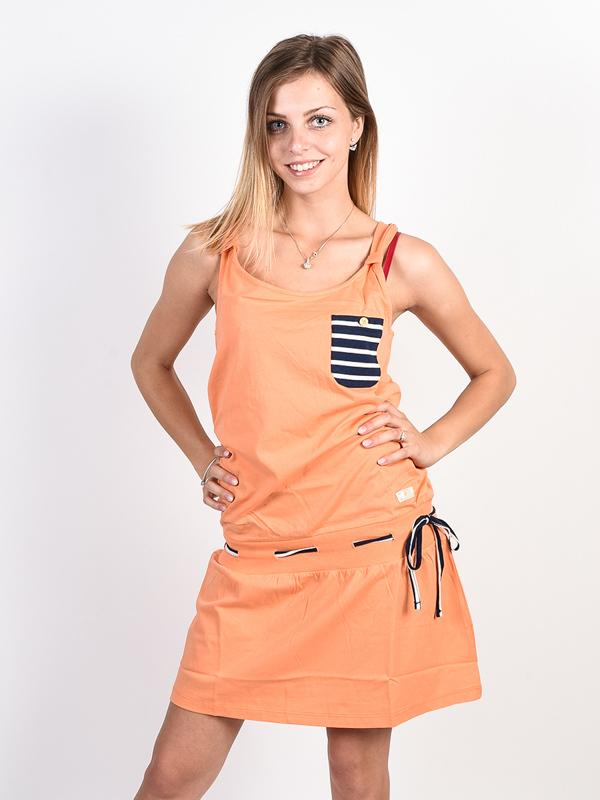 Picture Lango SALMON krótkie sukienki - M