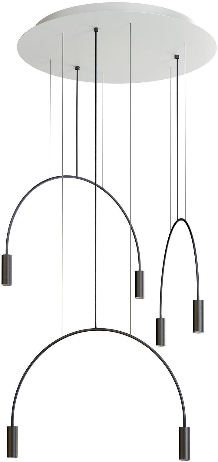 Lampa wisząca Volta R70.3D Estiluz nowoczesna oprawa w dekoracyjnym stylu
