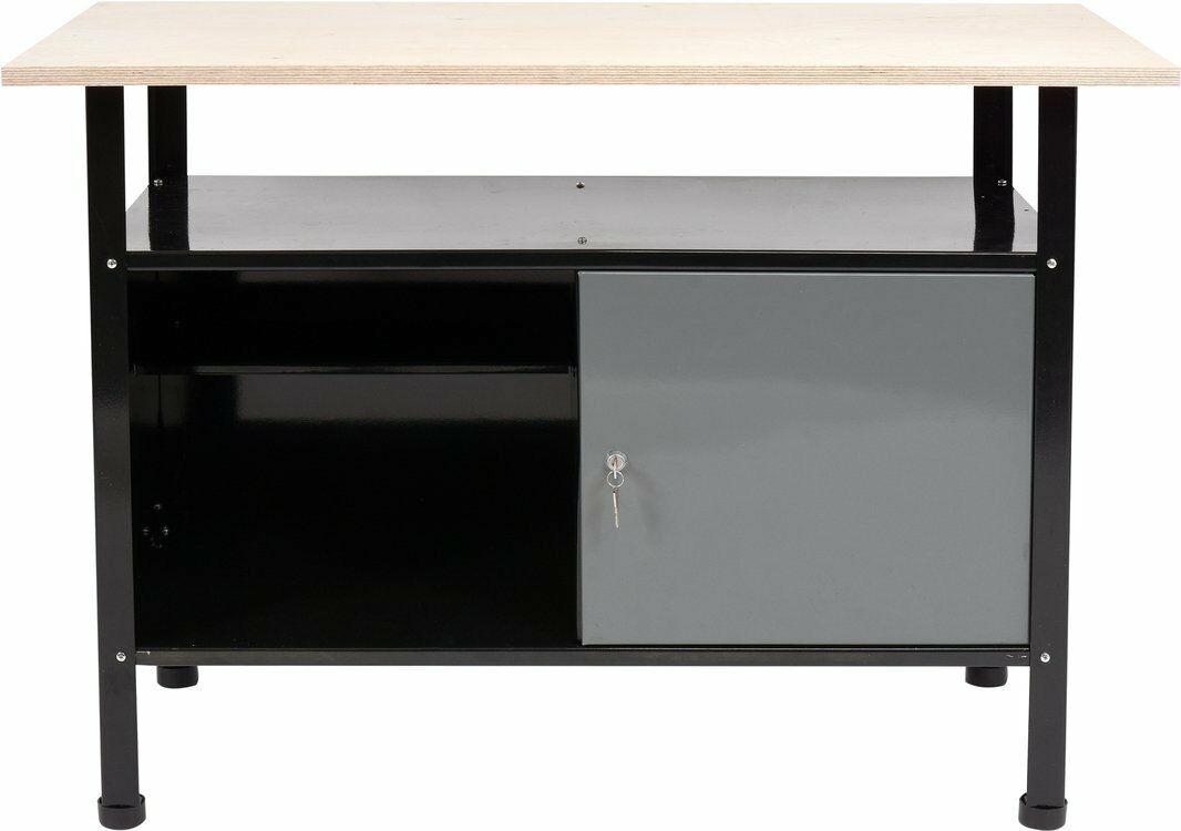 Biurko, stół, szafka warsztatowa na narzędzia 1160 x 600mm 58450 - ZYSKAJ RABAT 30 ZŁ