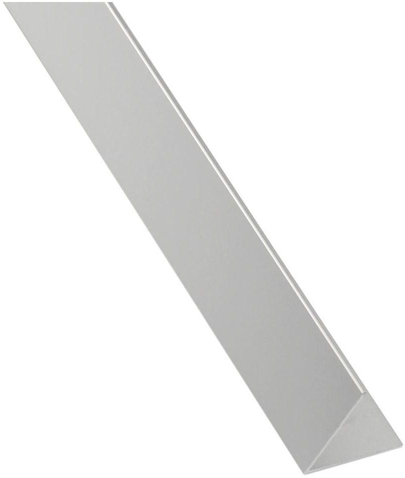 Kątownik aluminiowy 1 m x 11 x 11 mm połysk srebrny STANDERS