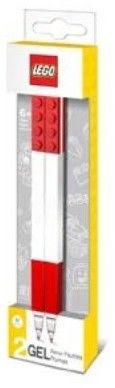 LEGO 51675 2 Długopisy Żelowe Czerwone